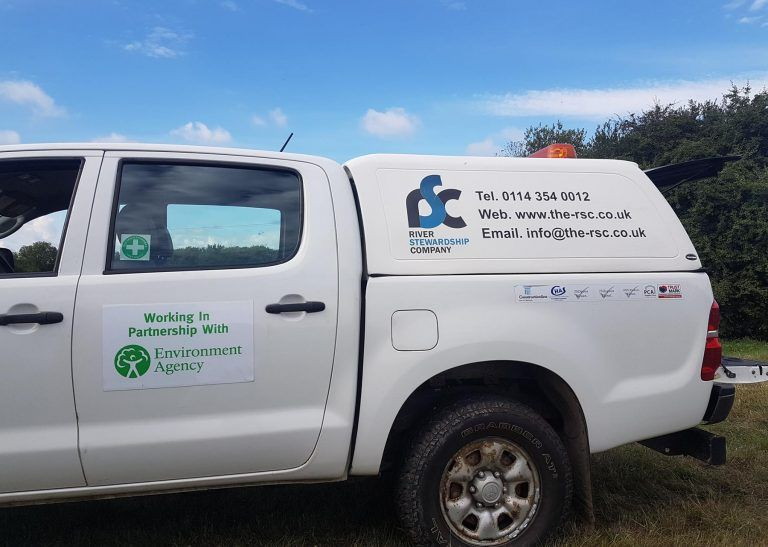 toyota hilux, partnership working, environment agency